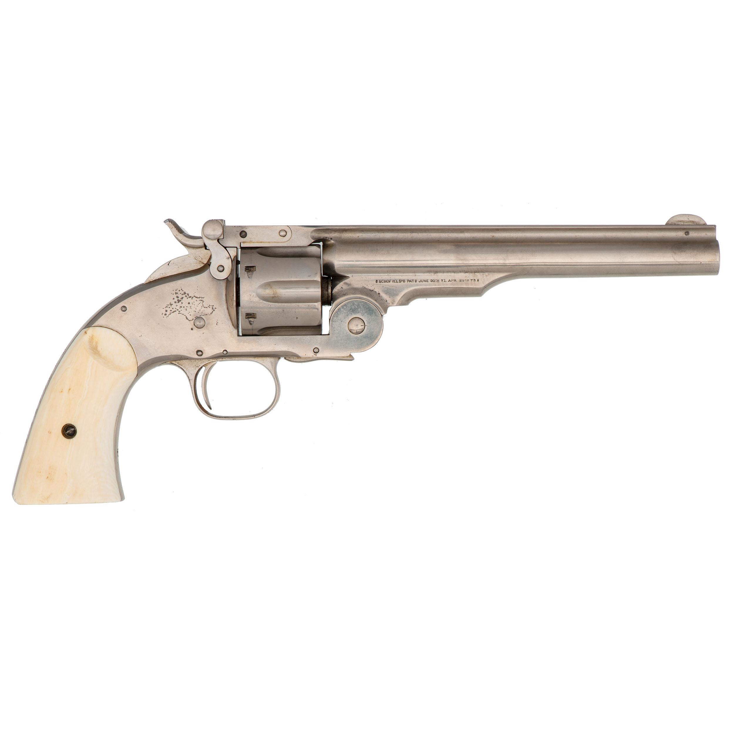 Smith & Wesson Second Model Schofield Revolver Presented