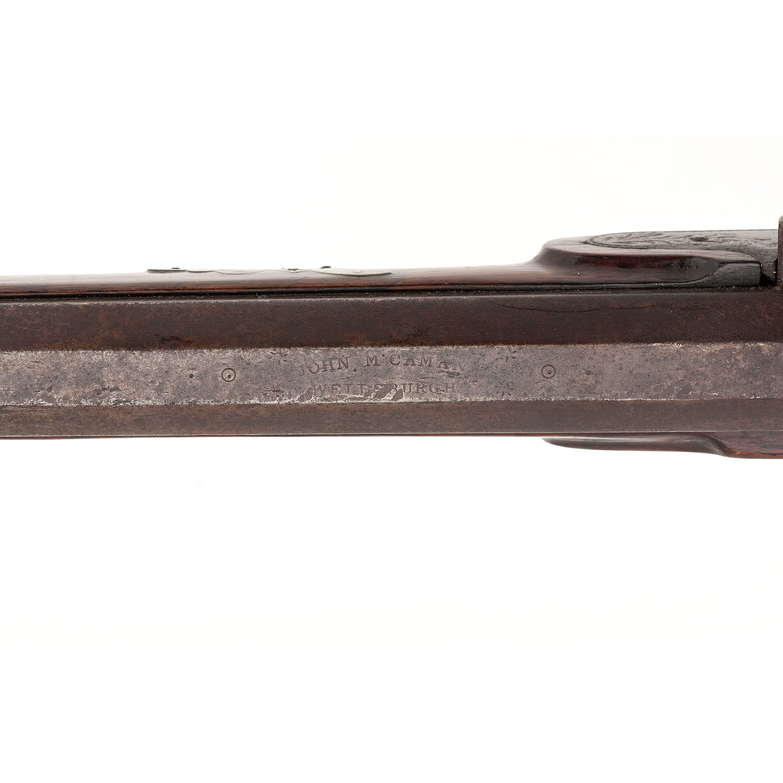 Half Stock Percussion Rifle Cowan S Auction House The