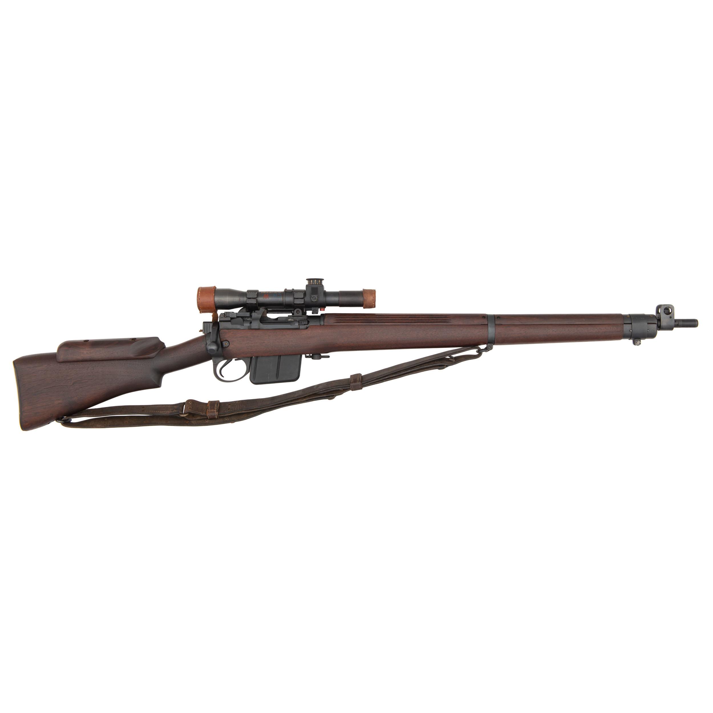 WWII British Lee-Enfield No  4 MkI*(T) Sniper Rifle