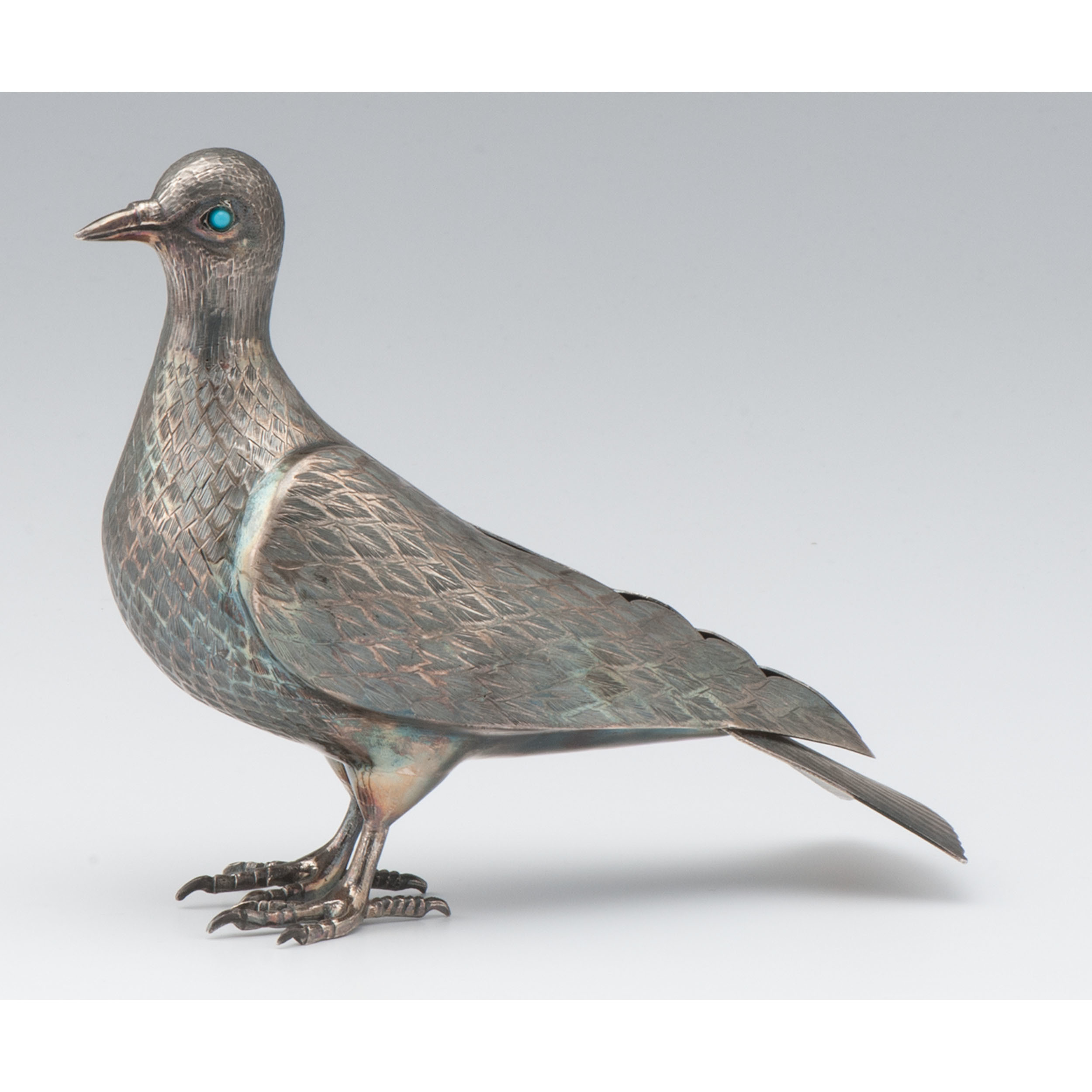 Persian Silver Dove Cowan S Auction House The Midwest S Most Trusted Auction House Antiques Fine Art Art Appraisals