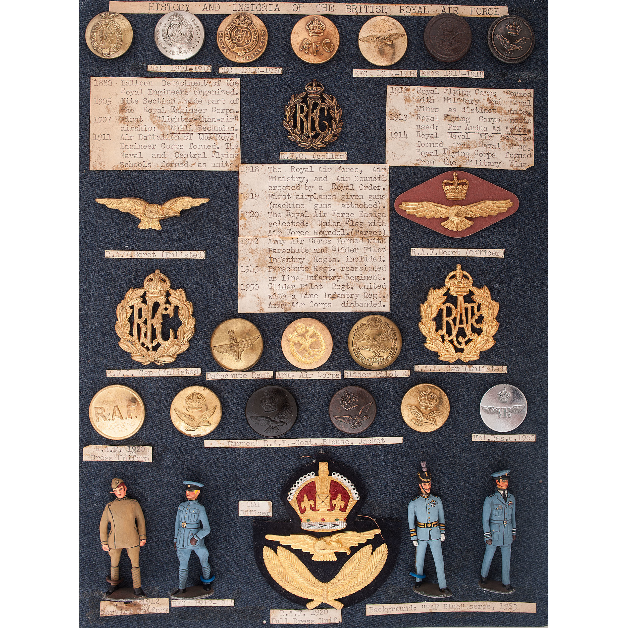 British Royal Air Force Insignia, Buttons, and More | Cowan's