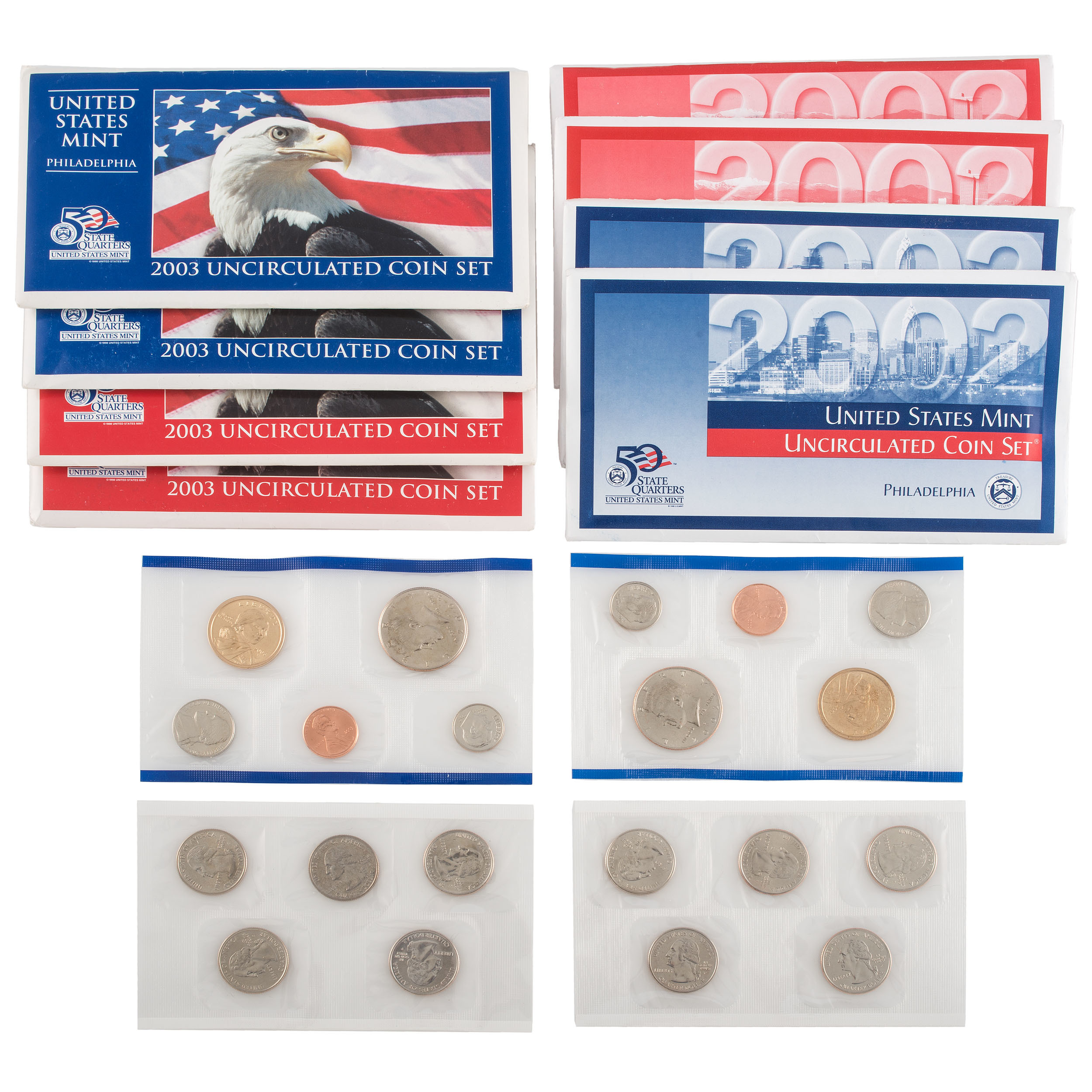 2003 United States Mint Uncirculated Coin Set