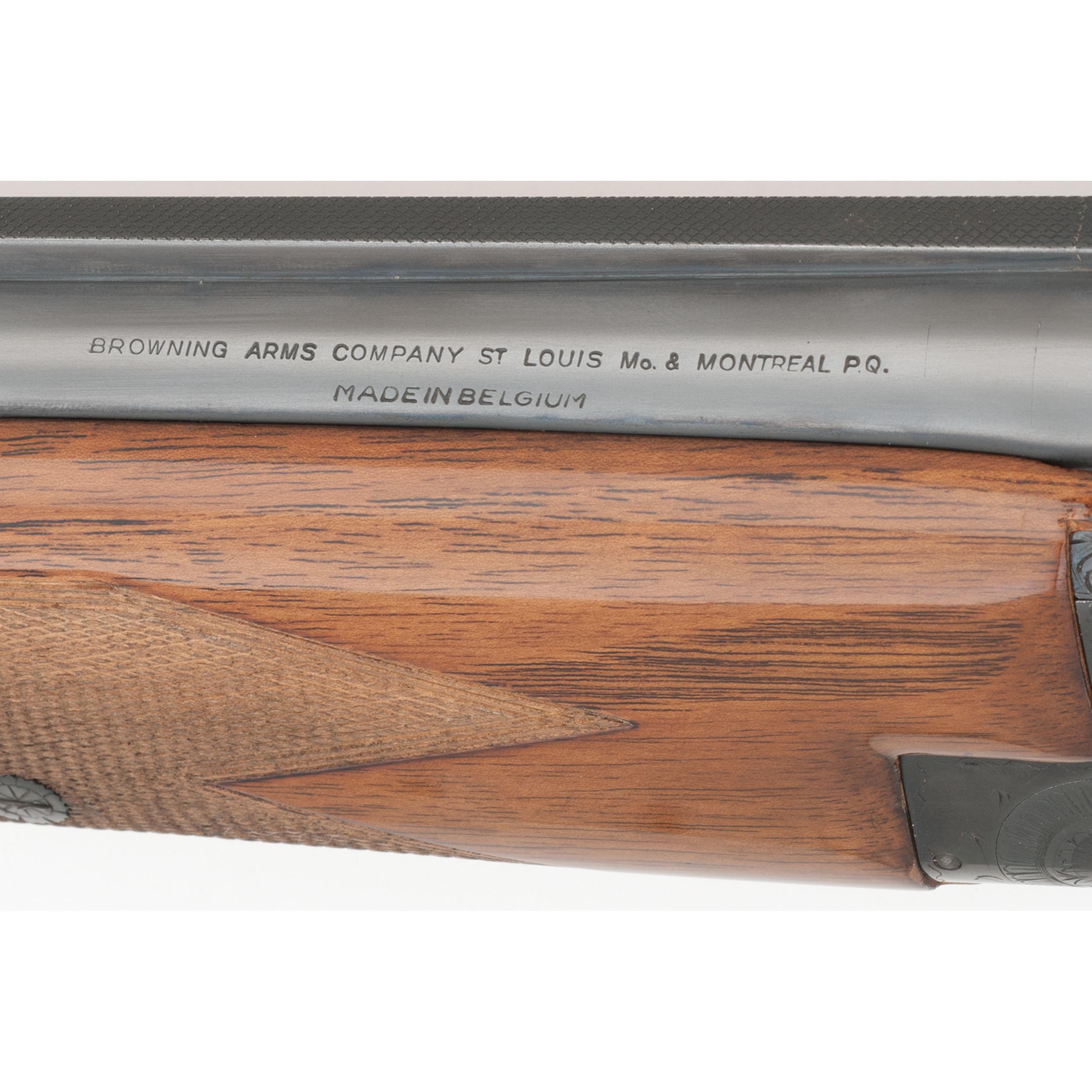 Belgian Browning Superposed Over/Under Shotgun   Cowan's