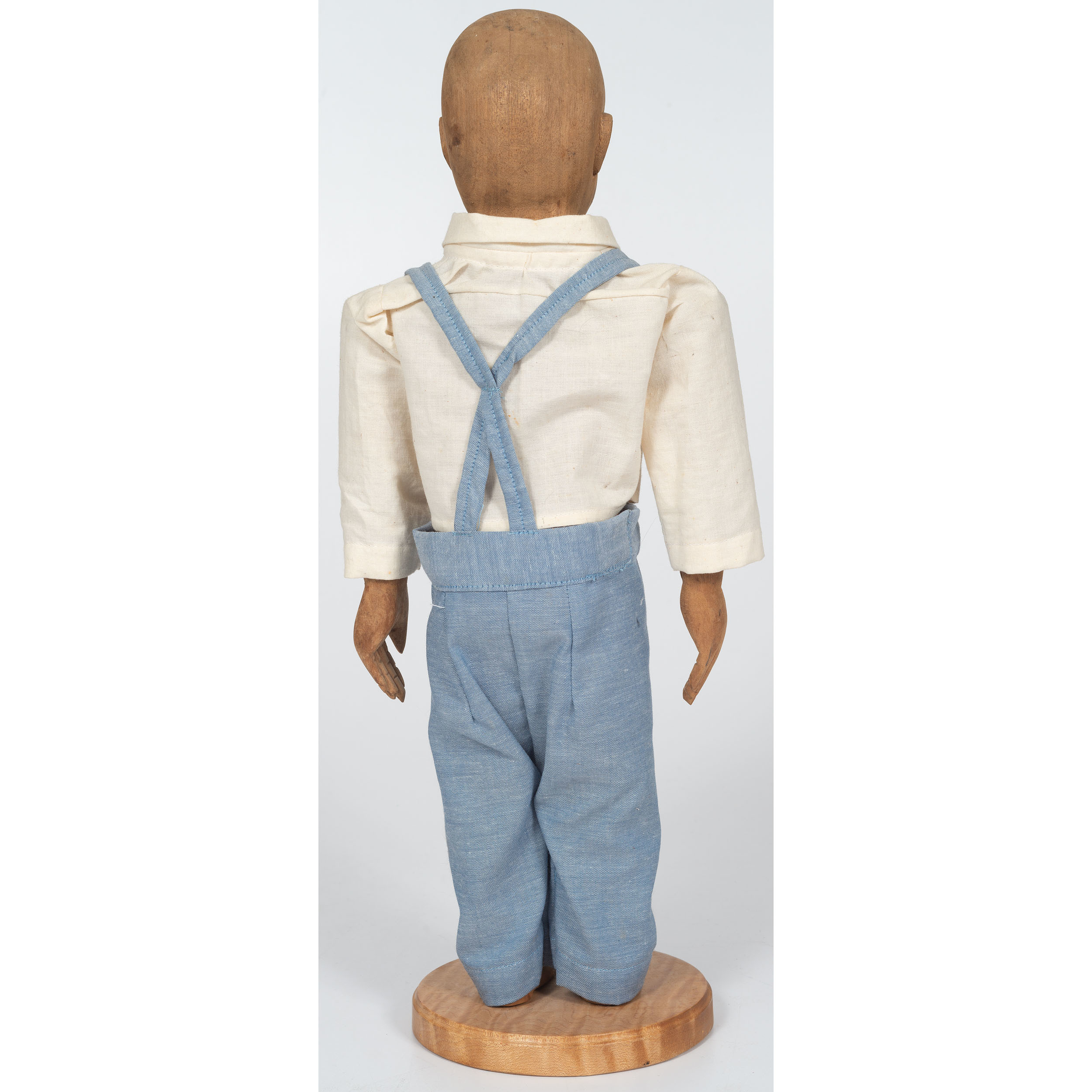 Amish Articulated Boy Doll | Cowan's Auction House: The