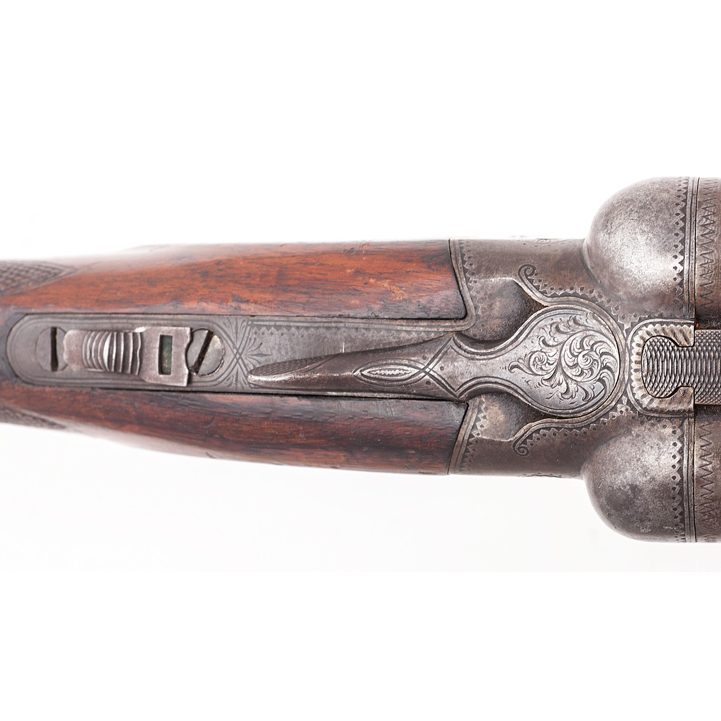 Ithaca Crass Hammerless Double-Barrel Shotgun   Cowan's