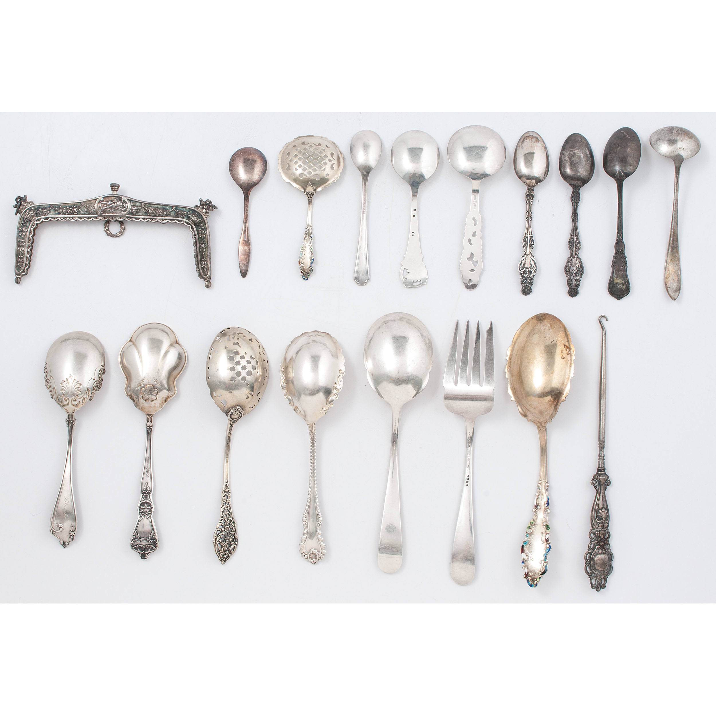 Sterling Silver Serving Pieces And Other Flatware Cowan