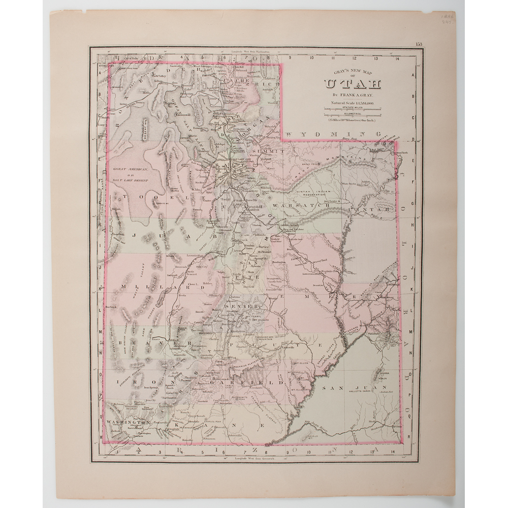 Maps - 19th Century] United States, From New England to the West ...