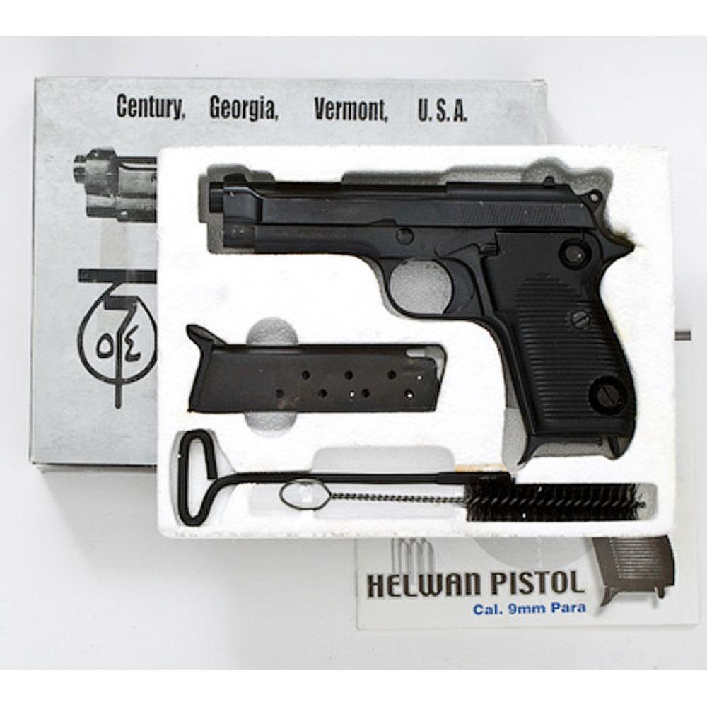 Egyptian Helwan Pistol,   Cowan's Auction House: The
