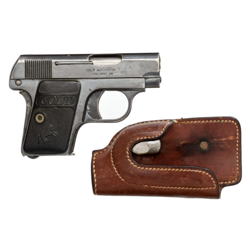 Colt Model 1908 Vest Pocket Pistol Plus Audley Holster