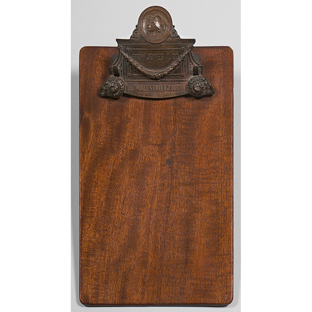 Dow Jones & Co. / Wall Street Journal Clipboard | Cowan's Auction House: The Midwest's Most ...