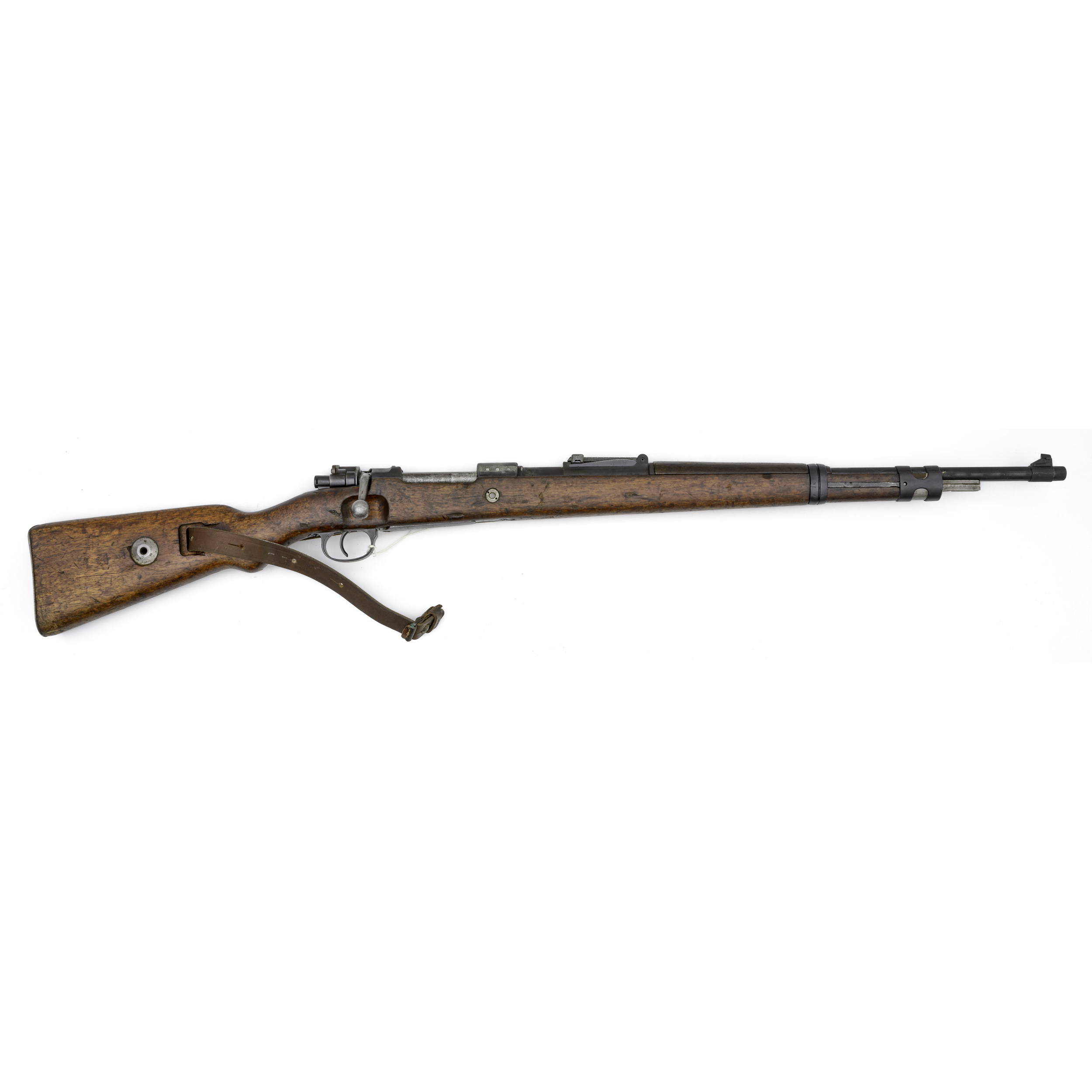 German K98 Rifle With Mauser Banner Stamped Receiver | Cowan's