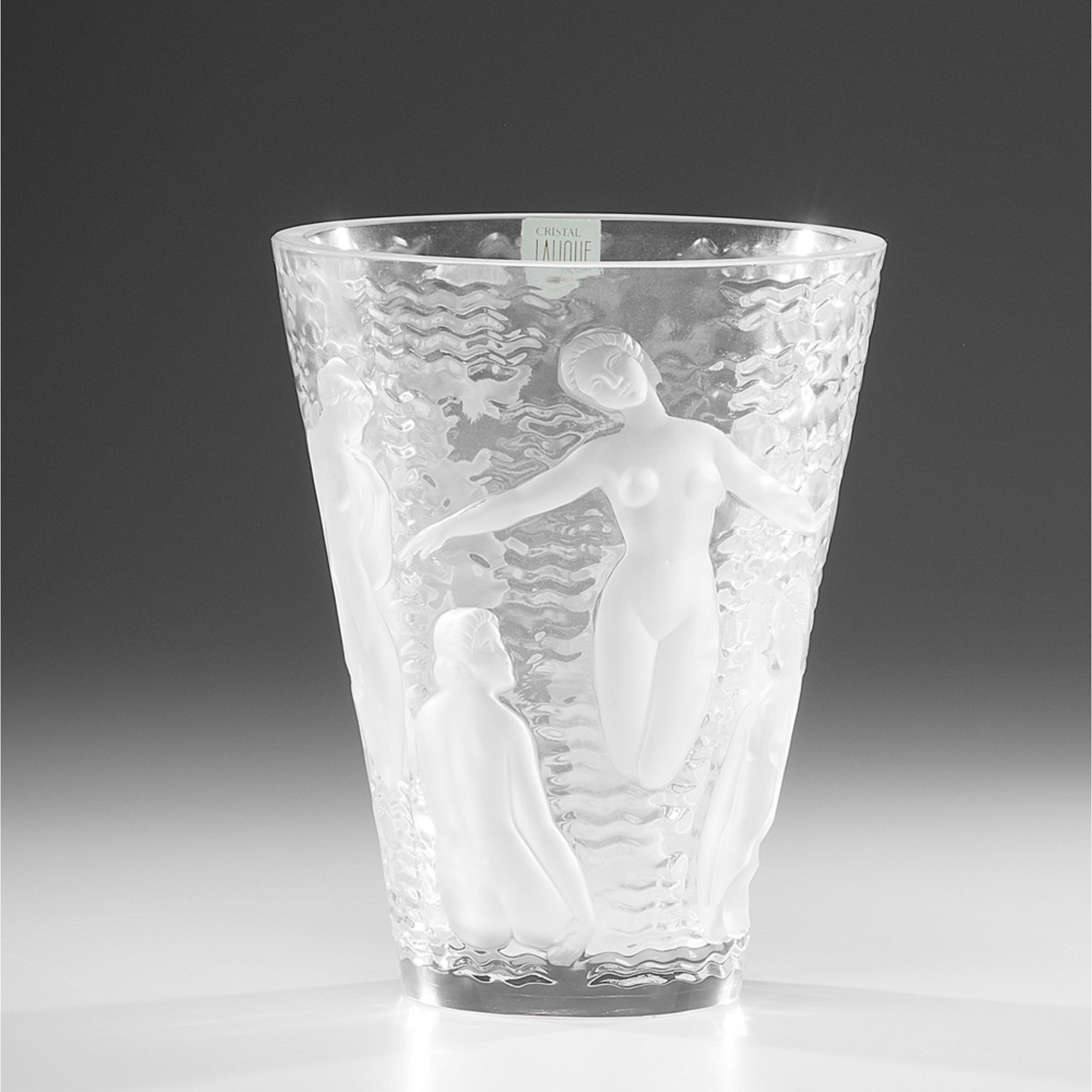 Lalique Ondines Vase Cowan S Auction House The Midwest