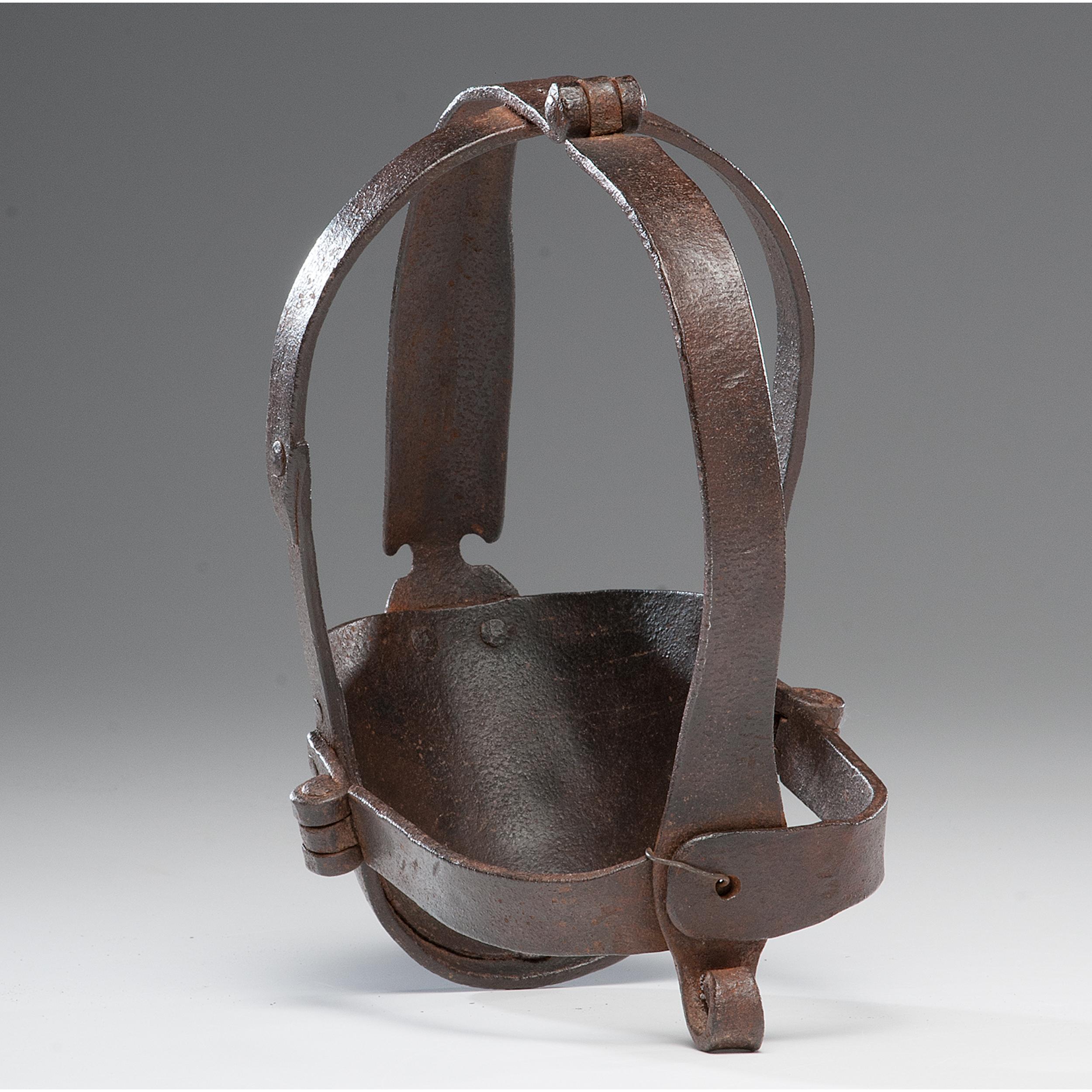 Slave Mask Ca 1840 1850 Cowan S Auction House The