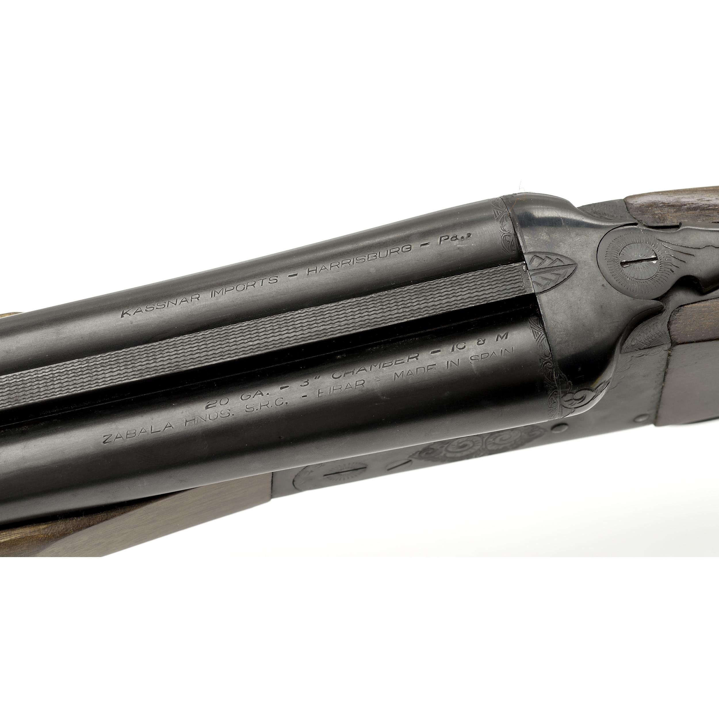 Kassner Imports Spanish Double Barrel Shotgun | Cowan's