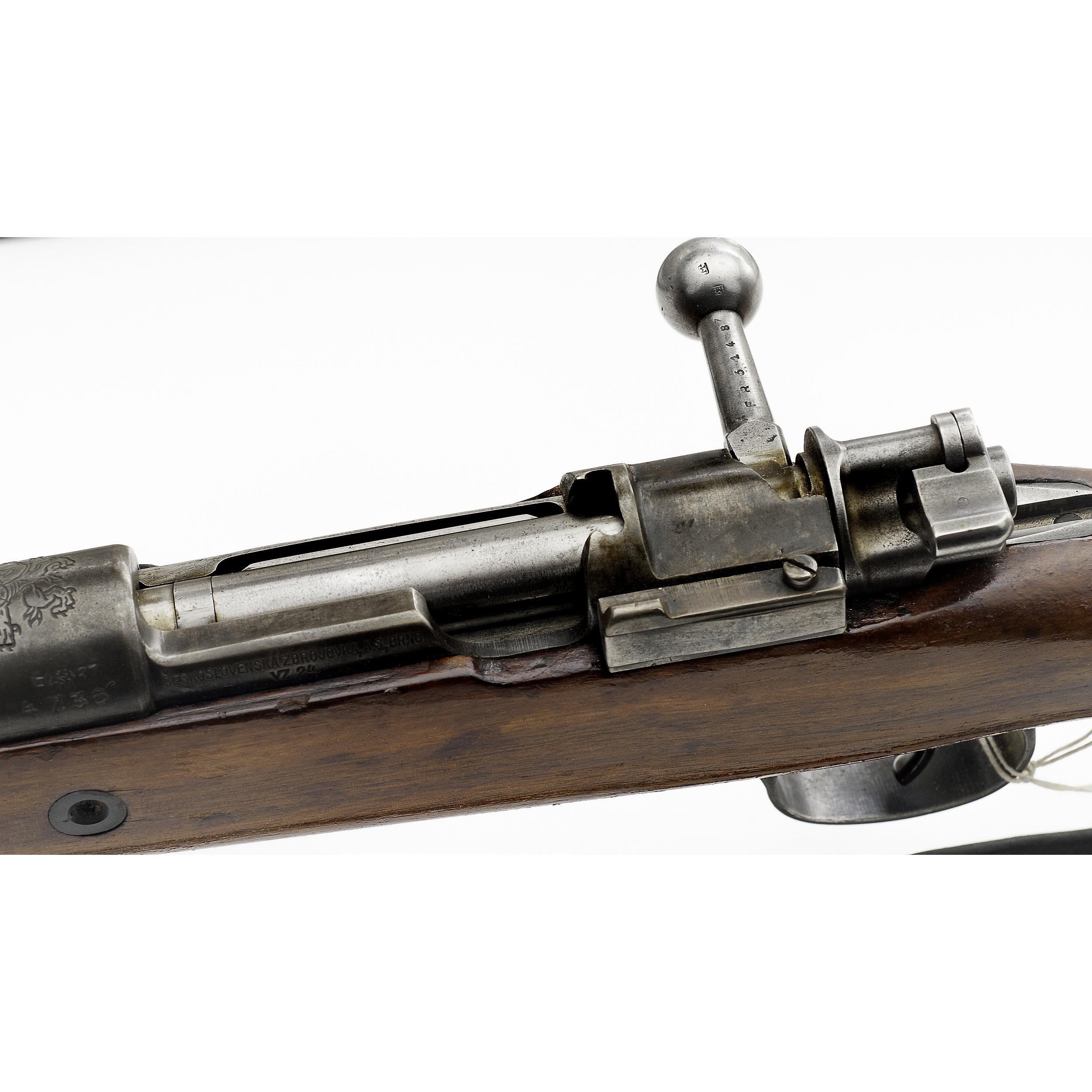 Czechoslovakian VZ 24 Bolt Action Rifle | Cowan's Auction
