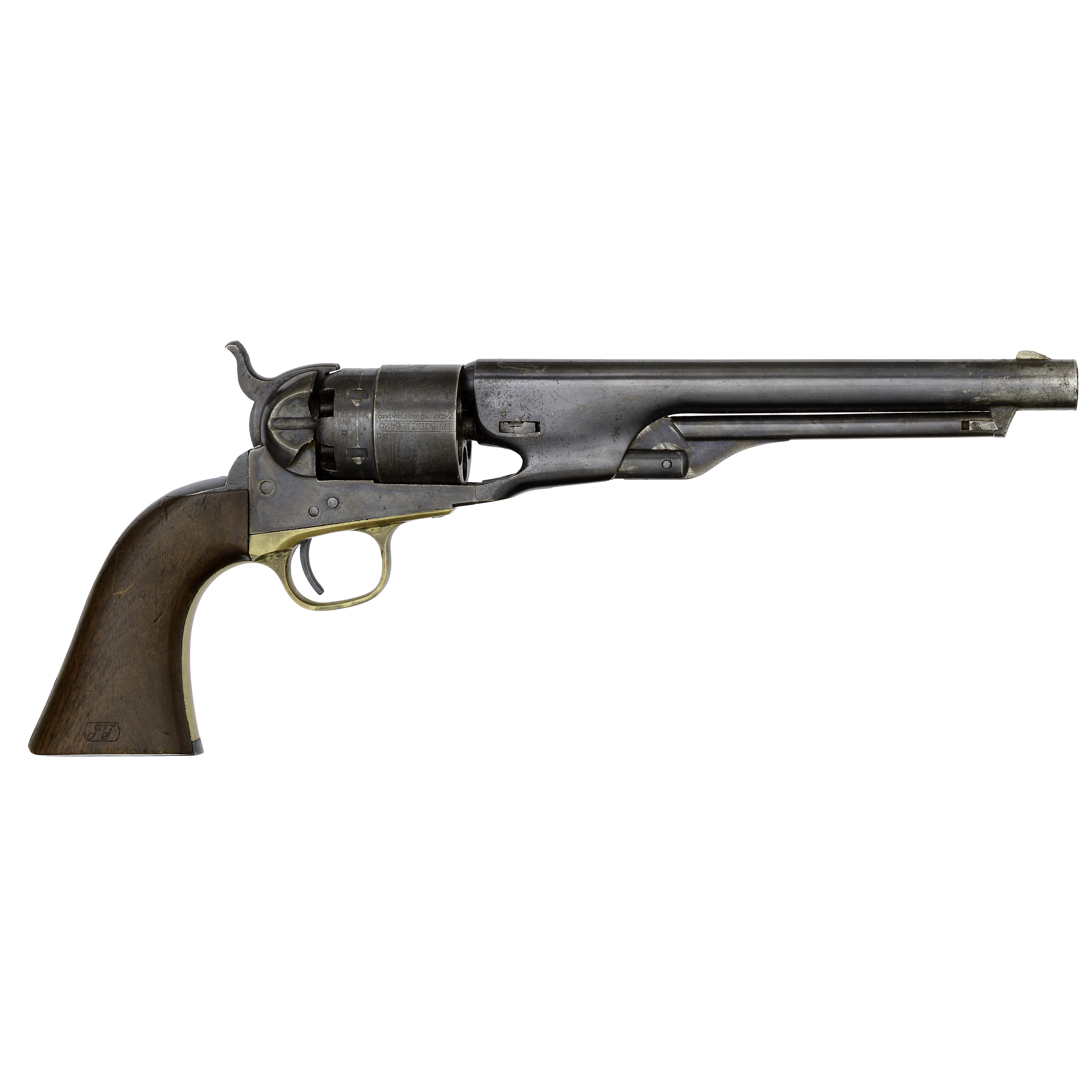 Colt Model 1860 Army Percussion Revolver Cowan S Auction