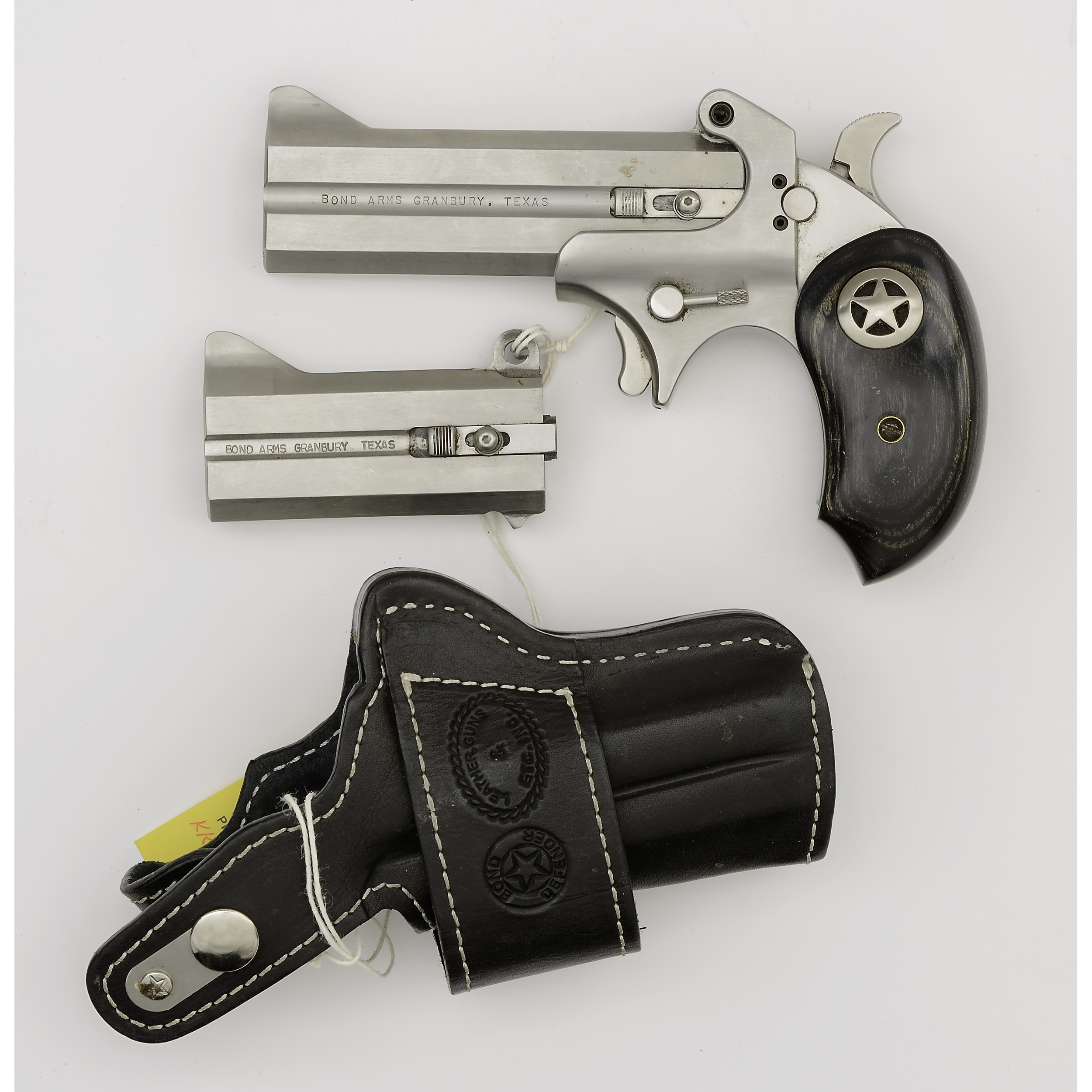 Bond Arms Ranger Ii With Extra Barrel And Leather Holster