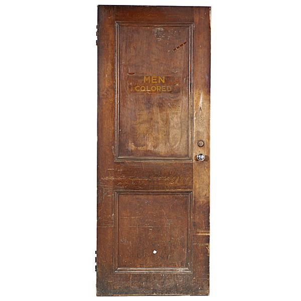 Hover to zoom  sc 1 st  Cowan\u0027s Auctions & Segregation Restroom Doors from Richmond Virginia   Cowan\u0027s Auction ...