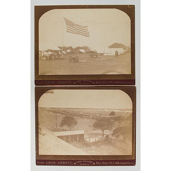 Camp Green & Camp Leon Abbett, Sea Girt, NJ Photographs by