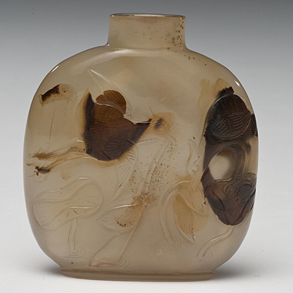 Agate Chinese Snuff Bottle