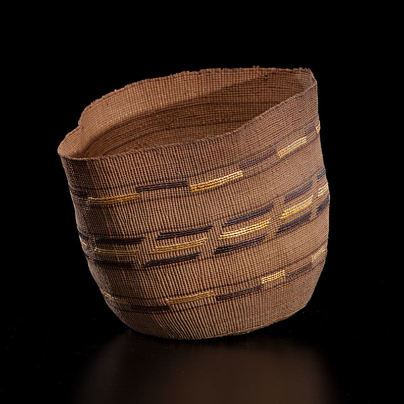 Tlingit Imbricated Basket