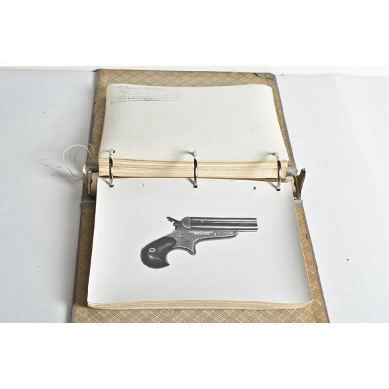 Archive of Photographs of a Sharps Firearms Collec