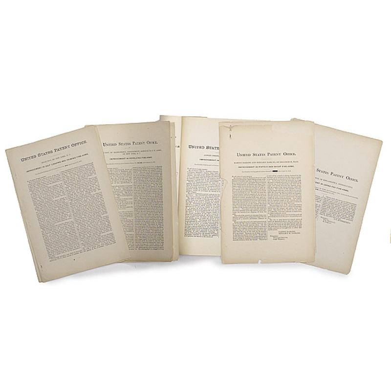 Patent Information Relating to Samuel Colt