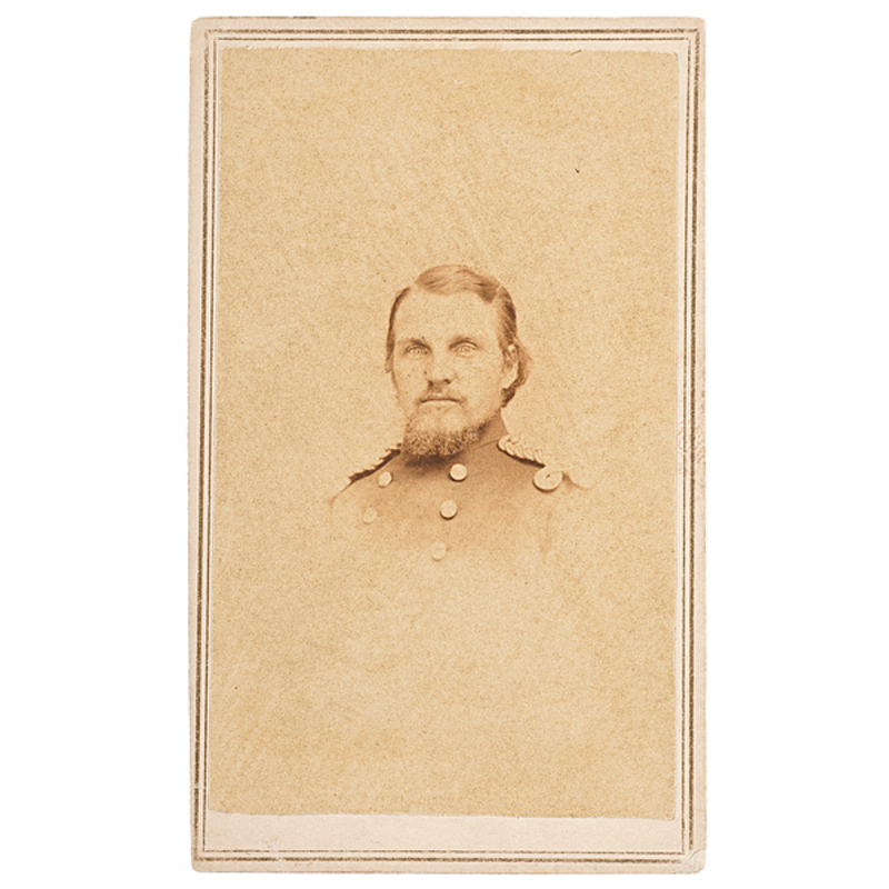 CDV of Marine Lieut. S.W. Powell