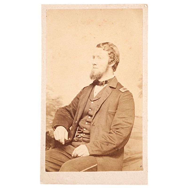 Lieut. John Huidekoper, 150th Pennsylvania Volunteers, CDV
