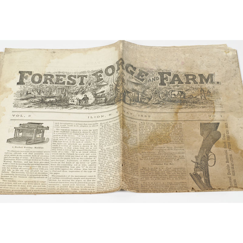Forest, Forge and Field, Remington Arms Co.