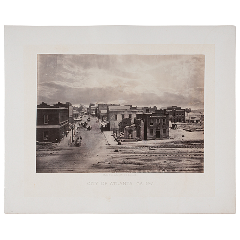 George Barnard Civil War Photographs of Atlanta