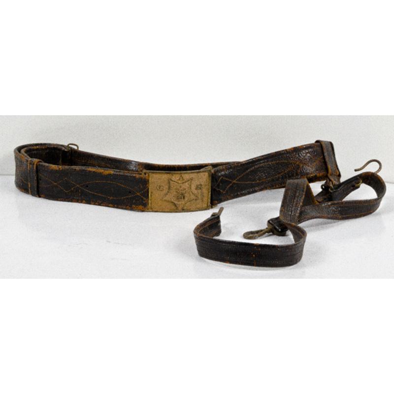 U.S. Civil War GAR Belt and Buckle