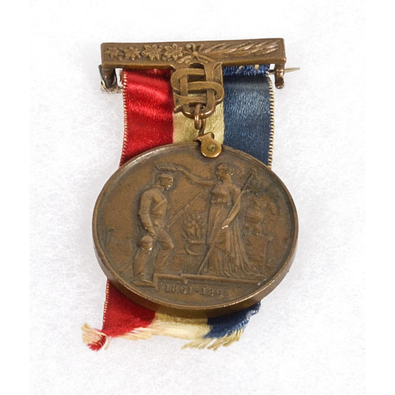 31st Ohio Civil War Service Medal, Identified to Junius F. Whiting