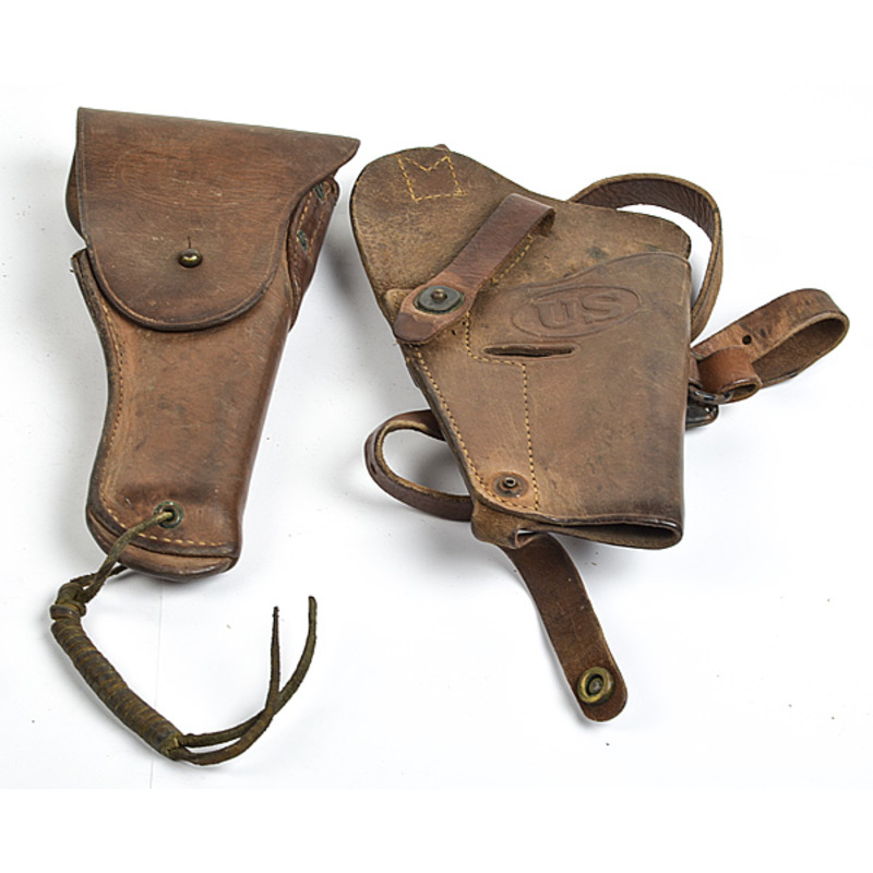U.S. Military Colt 1911 Leather Holsters, Lot of T