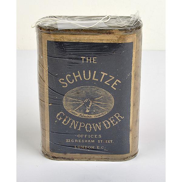 European Powder Can The Schultze Gunpowder Co.
