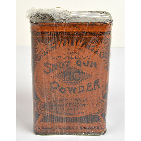 Powder Can by the American E.C. Powder Co.