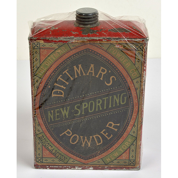 One Pound Dittmar's New Sporting Powder Can