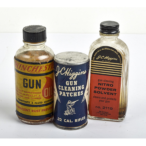 Lot of Three Gun Cleaning Solvents