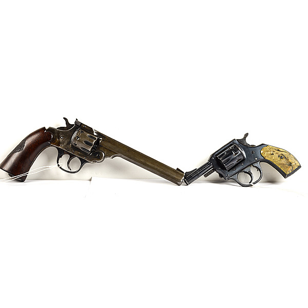 *H&R Model 922 Revolver PLUS Iver Johnson Supersho