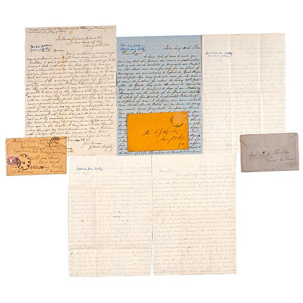 Private Junius Spratley, 13th Virginia Cavalry, Civil War Correspondence