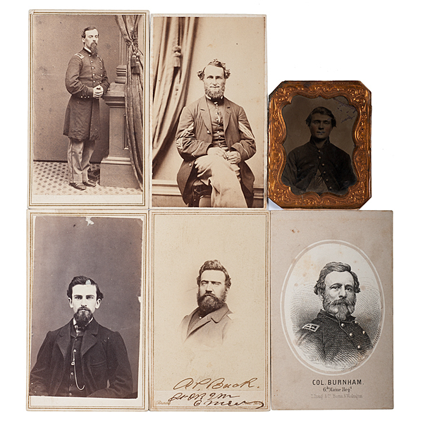 6th Maine Soldiers, Six Identified CDVs