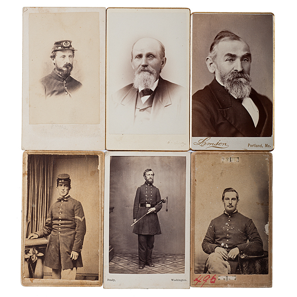 6th Maine Soldiers, Seven Identified Images