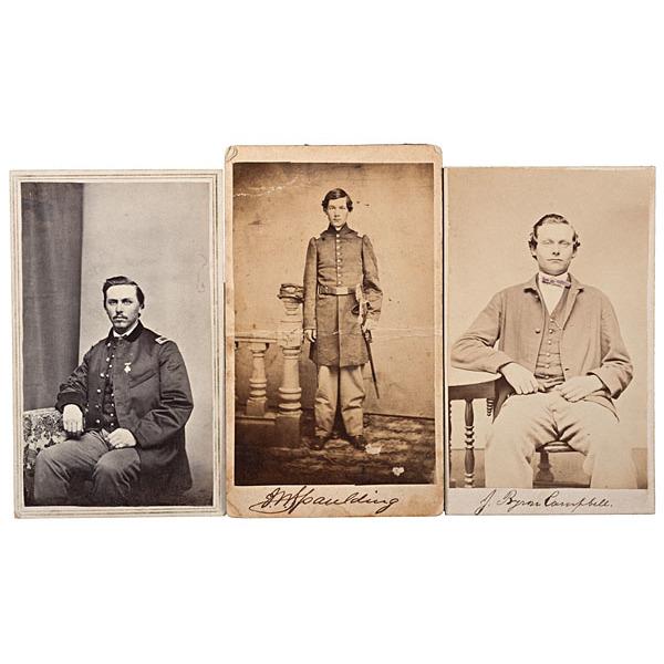 19th Maine Soldiers at Gettysburg, Three Identified CDVs