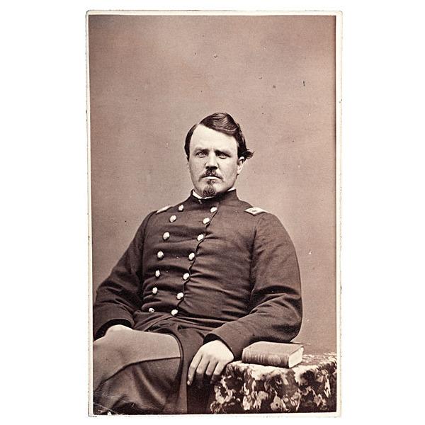 Colonel & BBG Isaac W. Starbird, 19th Maine-WIA Gettysburg, CDV