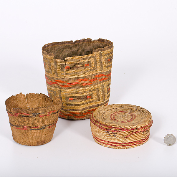 Tlingit and Makah Baskets Collected by John S. Boyden, Sr. (1906-1980)