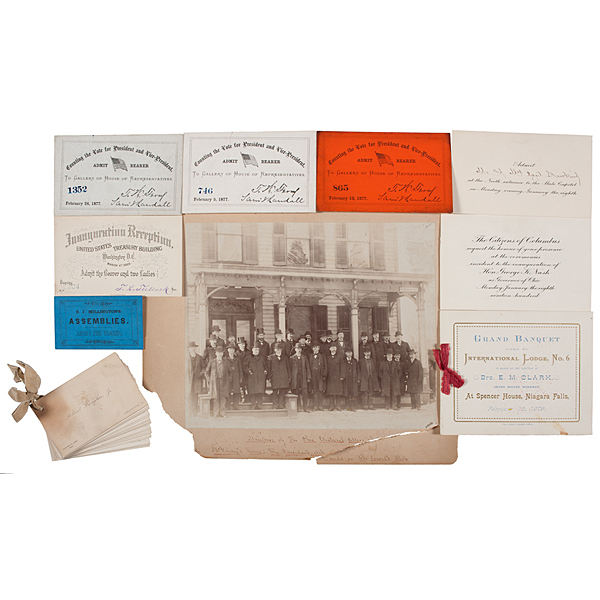 Cyril Hawkins, Member of William McKinley's Board of Electors, Archive of Photos, Documents, & Political Ephemera