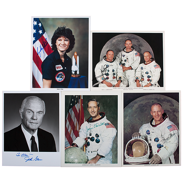Astronaut Letters and Photographs