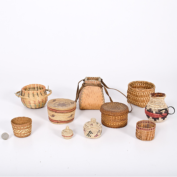Assembling of Native American Baskets From the Collection of Dr. Kent and Karen Vickery, Colorado