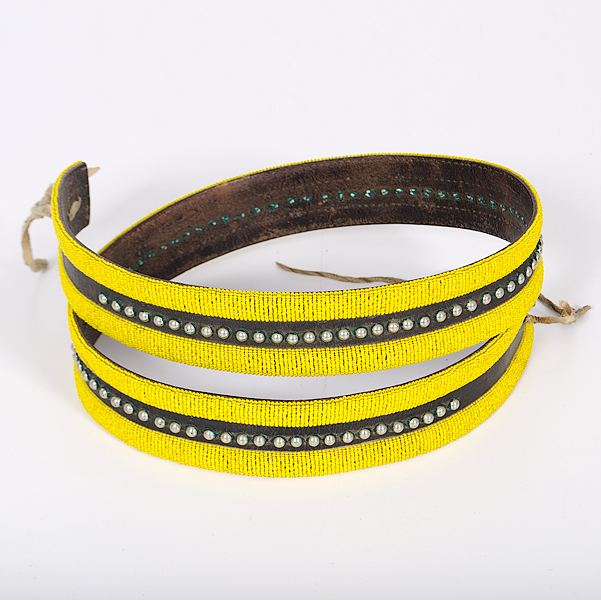 Northern Plains Beaded Belt