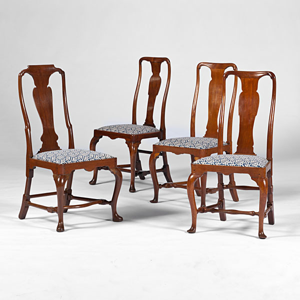 Queen Anne-style  Side Chairs